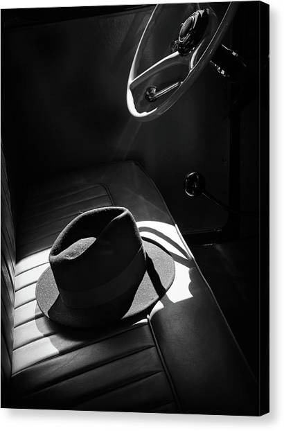 Cars Canvas Print - In The Sun by Barbara Read