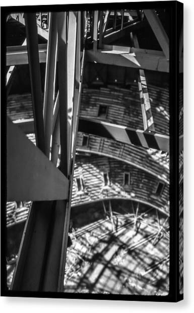 In The Trusses Canvas Print