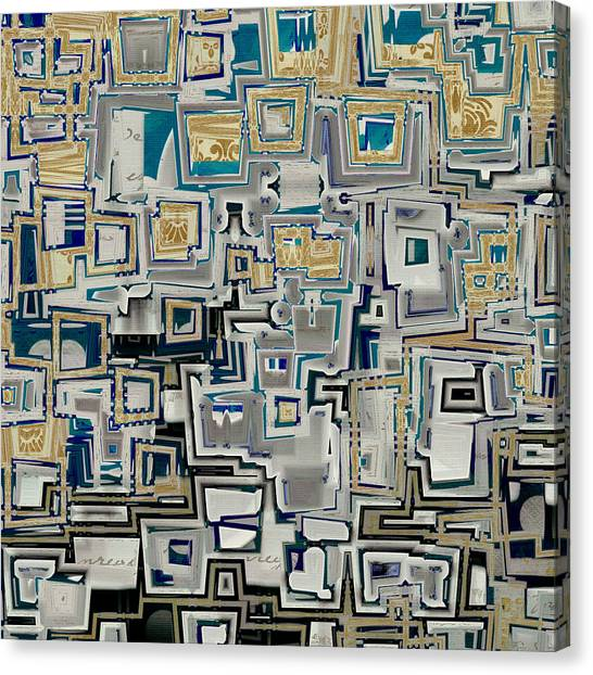 Cubism Canvas Print - Inboxed - S01a by Variance Collections
