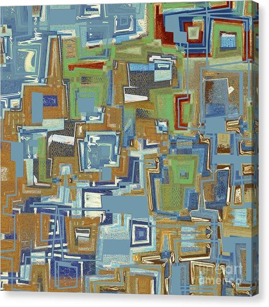 Cubism Canvas Print - Inboxed - S04c02 by Variance Collections