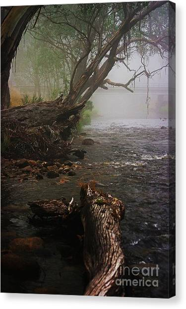 Indeed It Was A Mystical Place Canvas Print