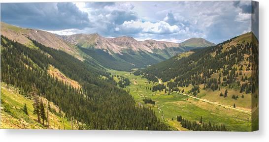 Independence In Colorado - Color Canvas Print