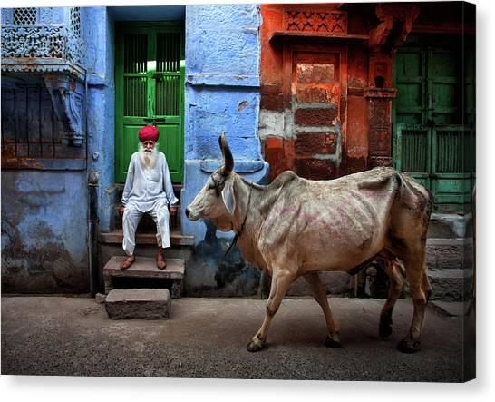 India Canvas Print - India by Fadhel Almutaghawi