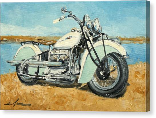 Indian Four 1941 Canvas Print