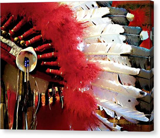 Indian Headdress Canvas Print
