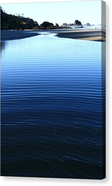 Indian Ripples Canvas Print