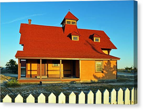 Indian River Lifesaving Station Museum Canvas Print