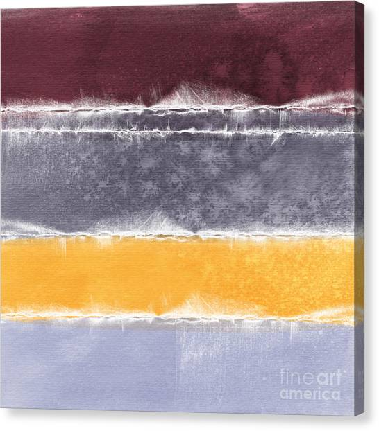 Purple Canvas Print - Indian Summer by Linda Woods