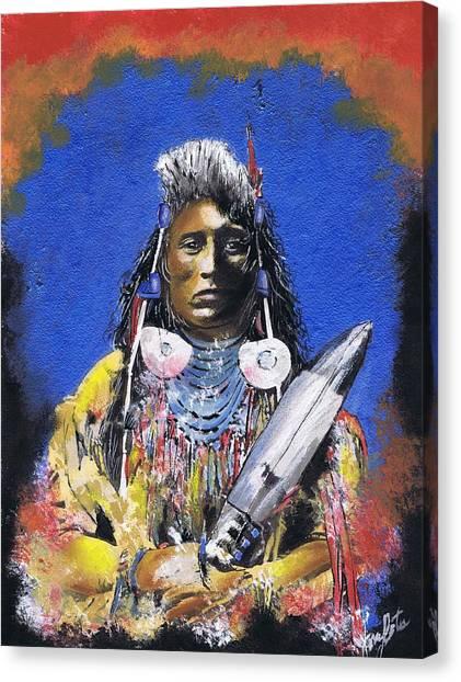 Indian Warrior 1 Canvas Print