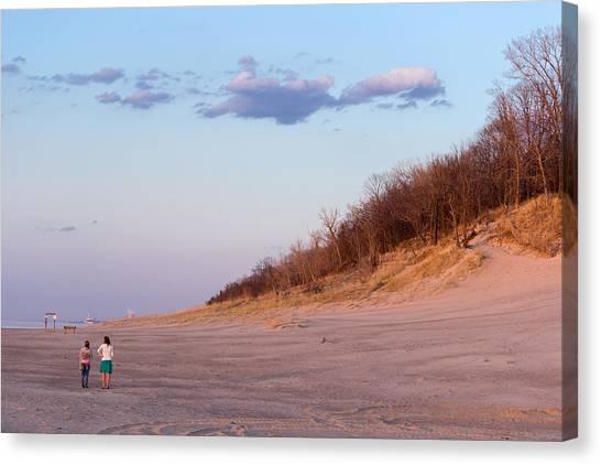 Indiana Dunes National Lakeshore Canvas Print