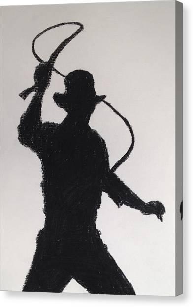 Fineart Canvas Print - Indiana Jones by Peter Virgancz