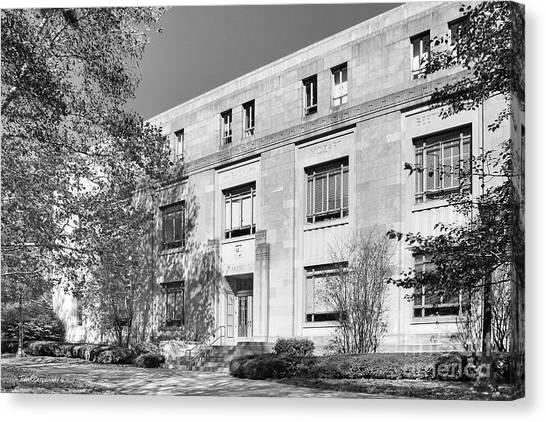 Big Ten Canvas Print - Indiana University Merrill Music Building by University Icons