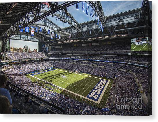Indianapolis Colts 1 Canvas Print