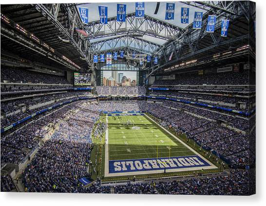 Indianapolis Colts Lucas Oil Stadium 3143 Canvas Print