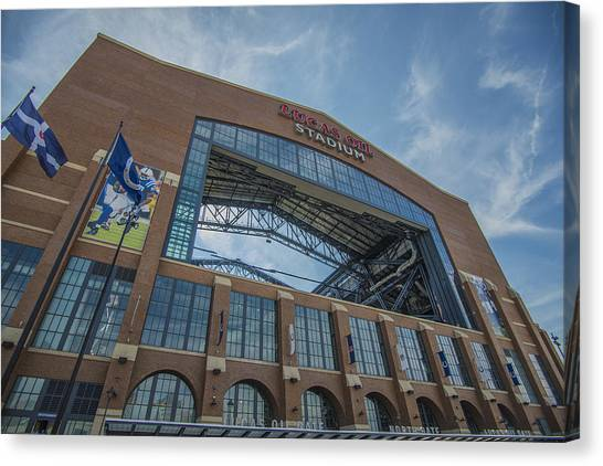 Indianapolis Colts Lucas Oil Stadium 3260 Canvas Print
