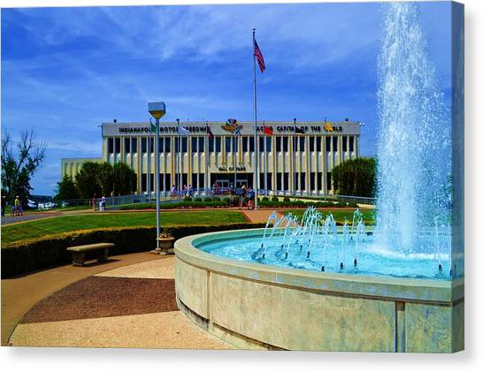 Indianapolis Motor Speedway Museum Canvas Print