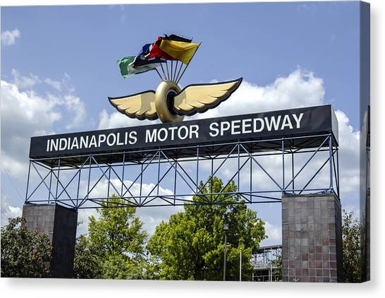 Indianapolis Speedway Canvas Print