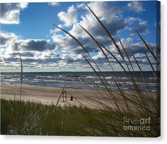 Indiana Dunes' Lake Michigan Canvas Print