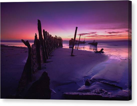 Indigo Dawn Canvas Print