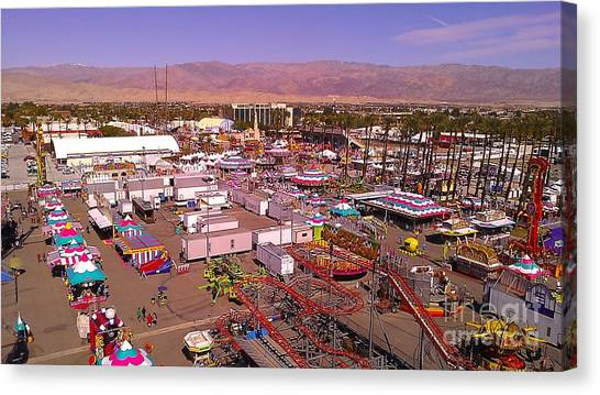 Indio Fair Grounds Canvas Print