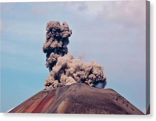 Krakatoa Canvas Print - Indonesia, Sumatra, Java, Anak Krakatau by Alida Latham