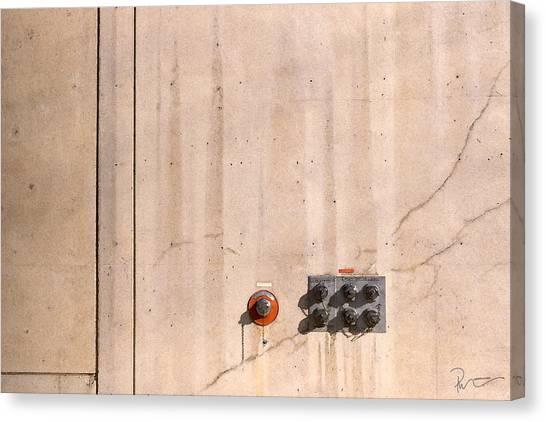Industrial 6 Canvas Print by Stephen Prestek
