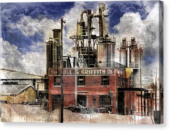Industrial Work Canvas Print