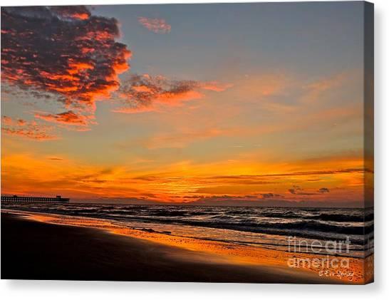 Inferno Sky Canvas Print