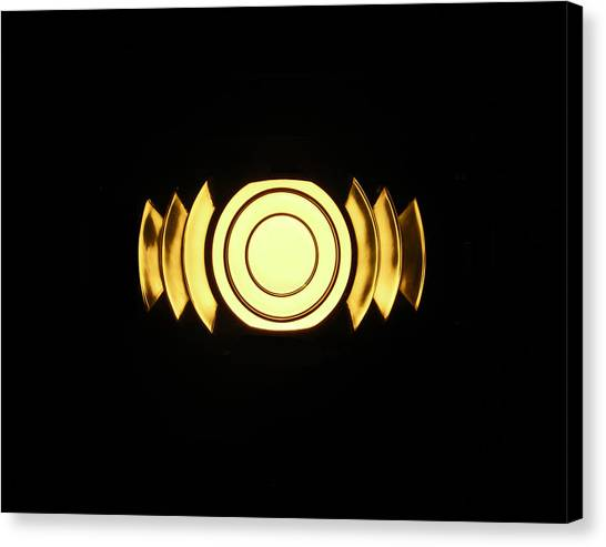 Infinite Gold By Jan Marvin Canvas Print