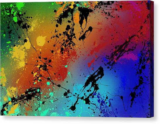 Colorful Canvas Print - Infinite M by Ryan Burton