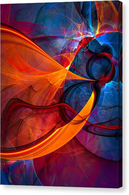 Infinity - Abstract Art Canvas Print
