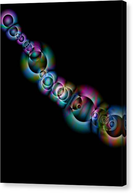Abstract Design Canvas Print - Infinity by Krazee Kustom
