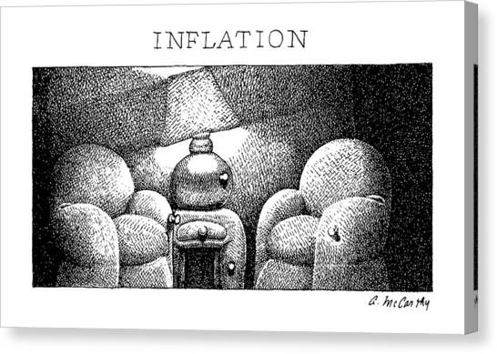 Inflatable Canvas Print - Inflation by Ann McCarthy