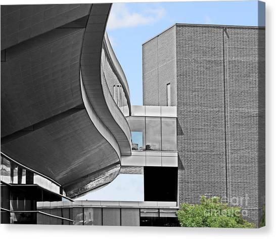 Pennsylvania State University Canvas Print - Information Technology Building by Dawn Gari