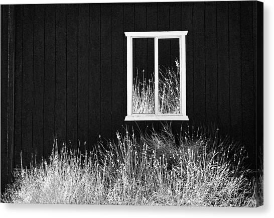 Infrared Barn Canvas Print