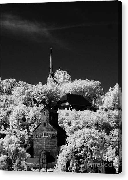 Infrared Stillwater Canvas Print