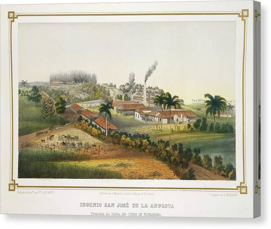 Principals Canvas Print - Ingenio San Jose De La Angosta by British Library