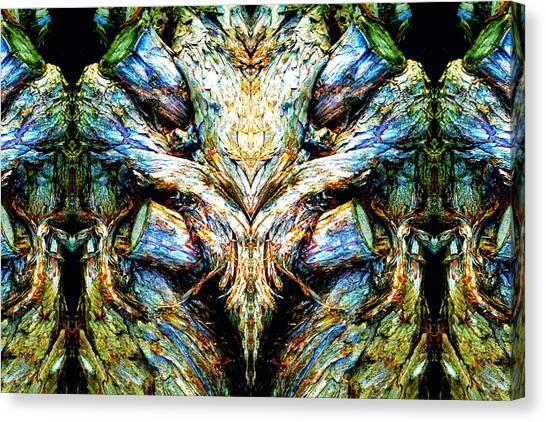 Ingrained Wings Canvas Print