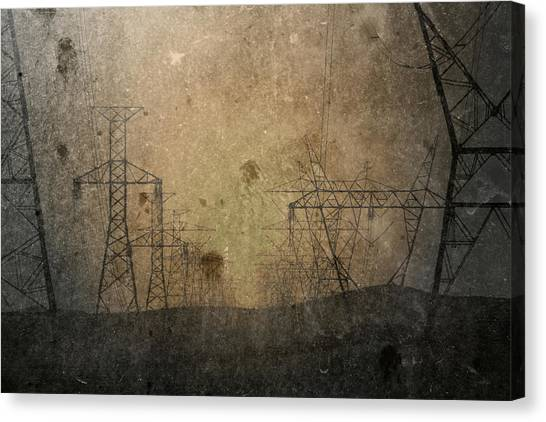 Injection Canvas Print