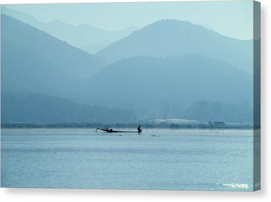 Inle Lake Canvas Print