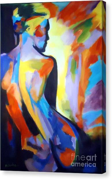 Inner Arsonist Canvas Print