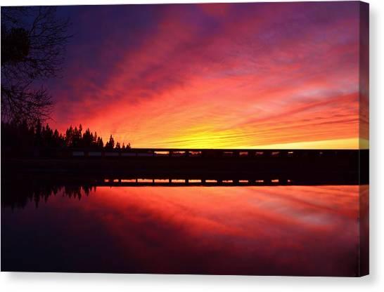 Inner Glow Sunset Canvas Print