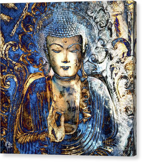 Ancient Art Canvas Print - Inner Guidance by Christopher Beikmann