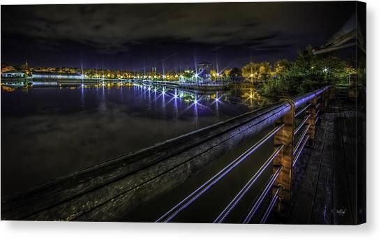 Syracuse University Canvas Print - Inner Harbor Dreaming by Everet Regal