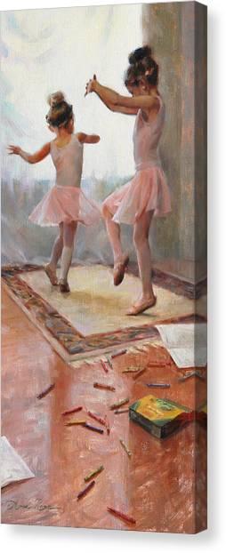 Innocence Canvas Print - Innocence by Anna Rose Bain