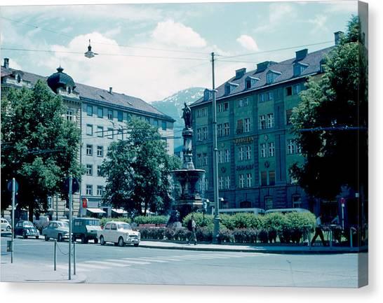 Innsbruck Austria 3 1962 Canvas Print by Cumberland Warden