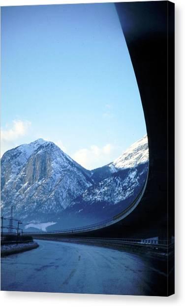 Innsbruck's Mountains Canvas Print