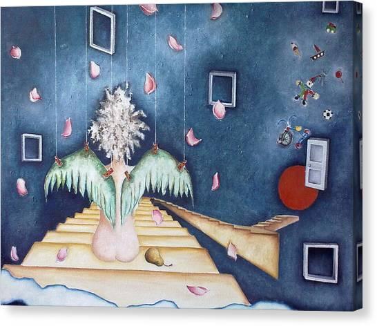 Inocencia Momentanea Canvas Print by Belen Jauregui