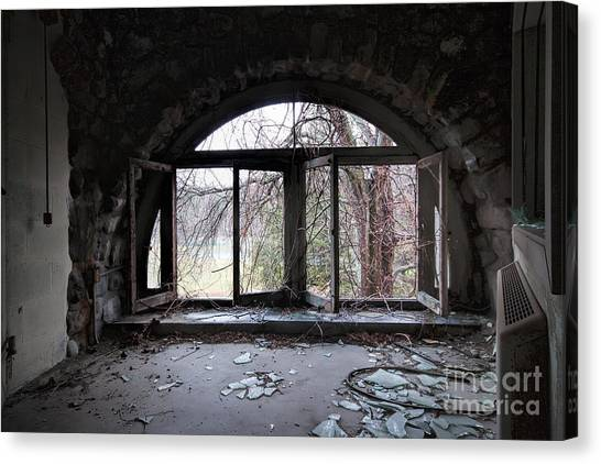 Junior College Canvas Print - Inside Looking Out by Rick Kuperberg Sr