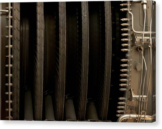 Inside The Engine Canvas Print